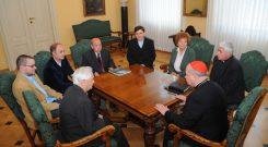 """Klub Chrześcijan i Żydów """"Przymierze"""" u Kardynała Stanisława Dziwisza - 06.06.2008"""
