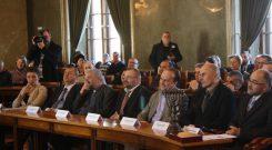 Ceremonia wręczenia Nagrody im. Ks. Stanisława Musiała SJ (Urząd Miasta Krakowa – 5.03.2013)